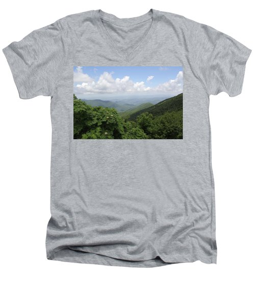 Mountain Vista Men's V-Neck T-Shirt