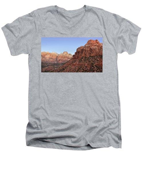Mountain Vista At Zion Men's V-Neck T-Shirt