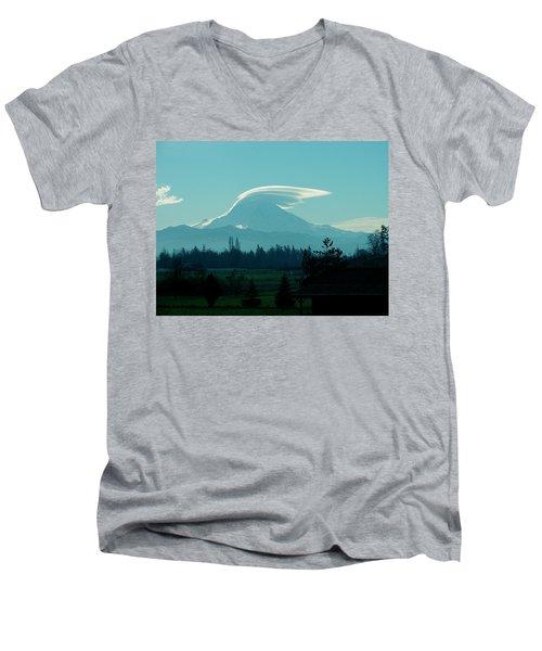 Mountain Wings Men's V-Neck T-Shirt