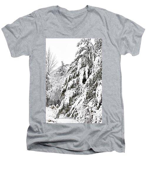 Mourn The Winter Men's V-Neck T-Shirt