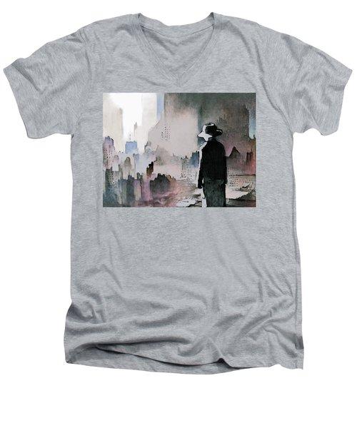 Mourning The American Dream Men's V-Neck T-Shirt