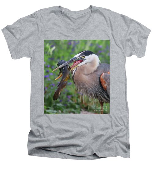 Mouthfull Men's V-Neck T-Shirt
