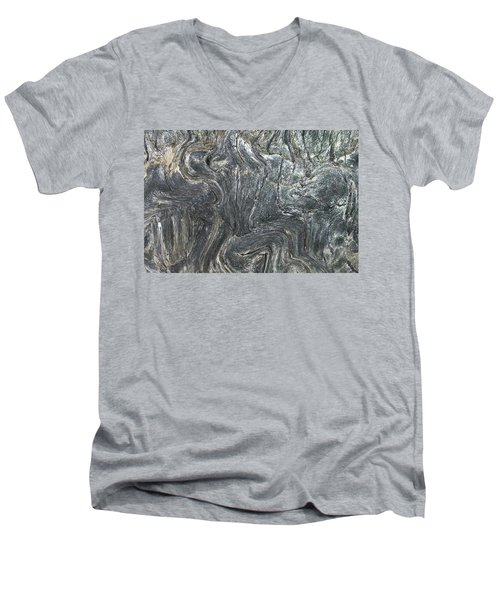 Movement In The Earth Men's V-Neck T-Shirt