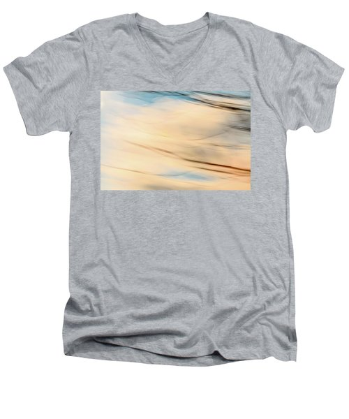 Moving Branches Moving Clouds Men's V-Neck T-Shirt