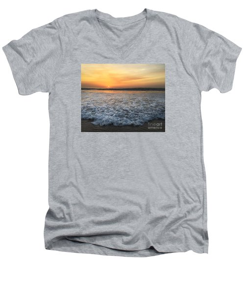 Moving In Men's V-Neck T-Shirt by LeeAnn Kendall