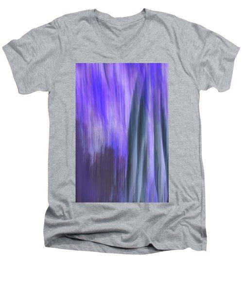 Moving Trees 37-36 Portrait Format Men's V-Neck T-Shirt