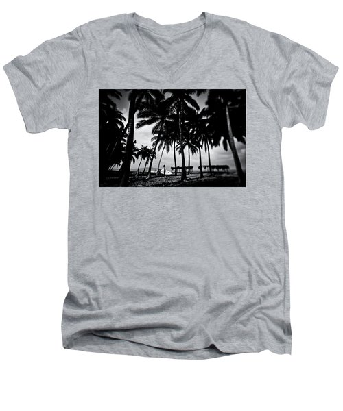 Mozzie Bait Men's V-Neck T-Shirt