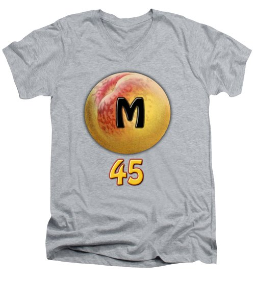 Mpeach 45 Men's V-Neck T-Shirt