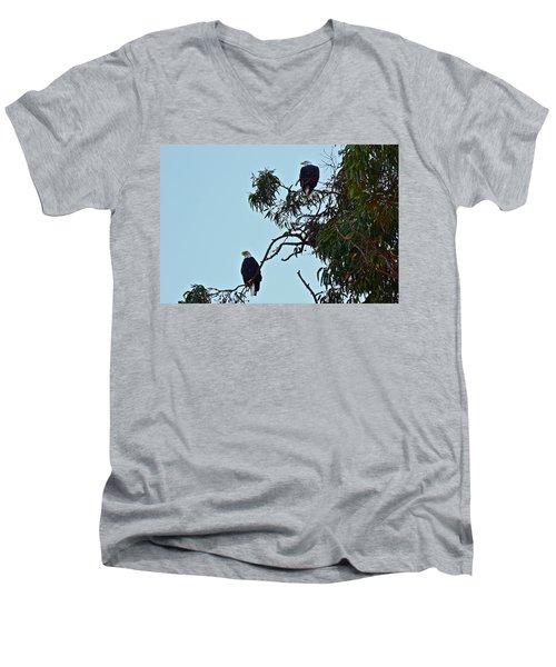 Mr. And Mrs. Bald Men's V-Neck T-Shirt