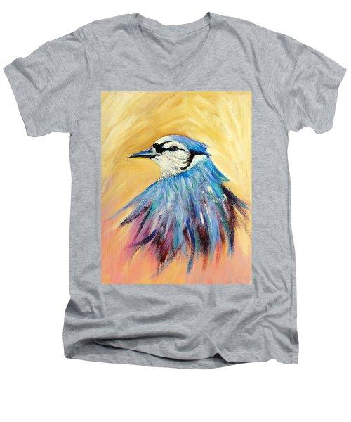 Mr. Blue Men's V-Neck T-Shirt