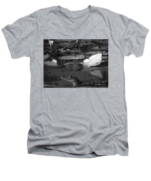 Mr. Caiman Men's V-Neck T-Shirt