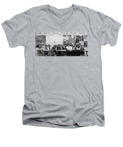 Mr Clay's Ap English Class - Cropped Men's V-Neck T-Shirt