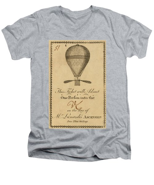 Mr. Lunardi Ascension Men's V-Neck T-Shirt