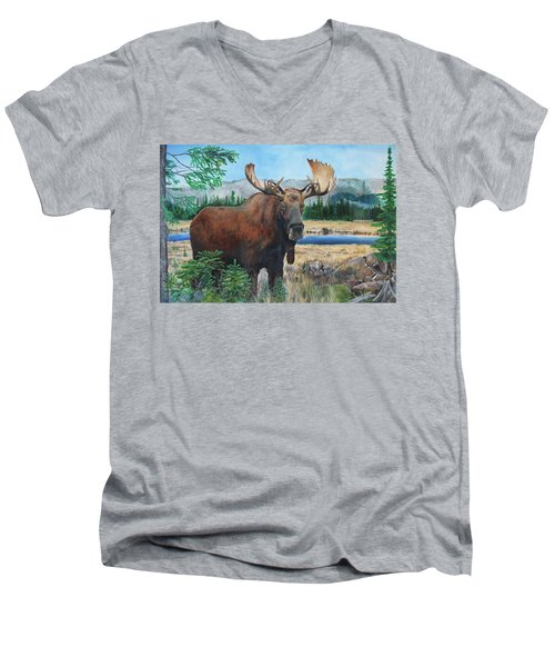 Mr. Majestic Men's V-Neck T-Shirt