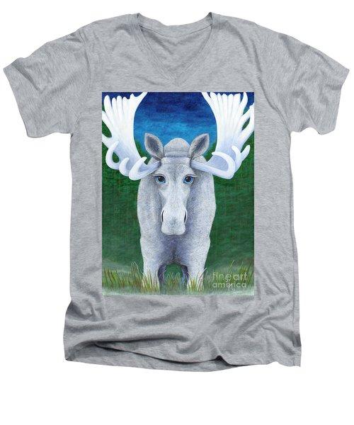 Mr. Moose Men's V-Neck T-Shirt