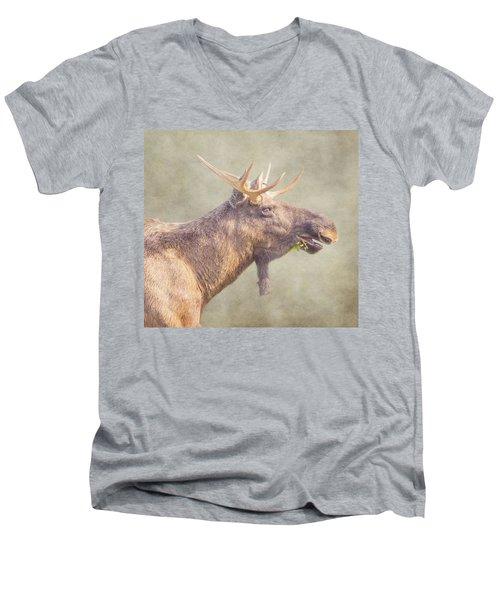 Mr Moose Men's V-Neck T-Shirt by Roy McPeak