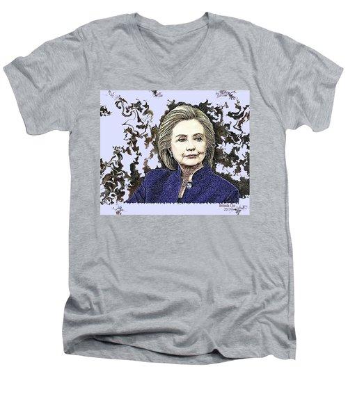 Mrs Hillary Clinton Men's V-Neck T-Shirt