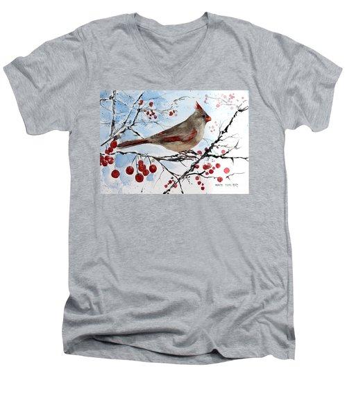 Mrs Red Bird The Visit Men's V-Neck T-Shirt