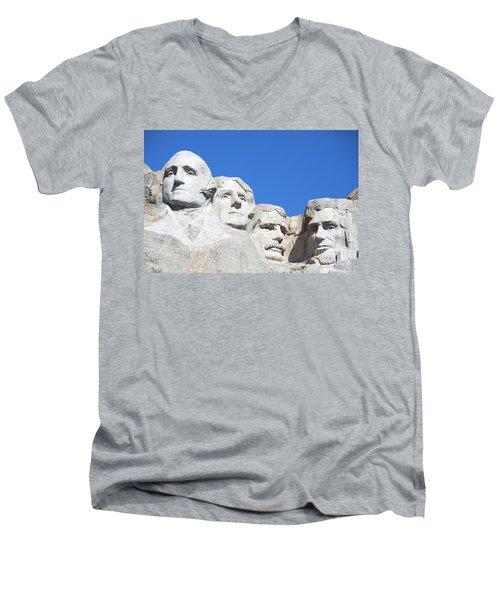 Mt. Rushmore Men's V-Neck T-Shirt