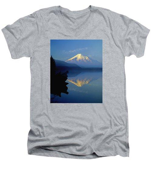 1m4907-v-mt. St. Helens Reflect V  Men's V-Neck T-Shirt