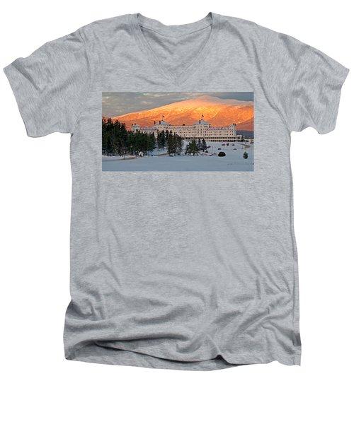 Mt. Washinton Hotel Men's V-Neck T-Shirt