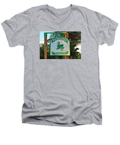 Mucky Duck I Men's V-Neck T-Shirt