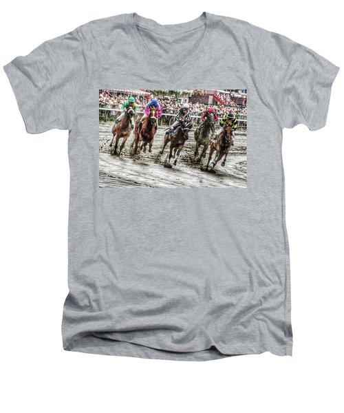 Mudders Men's V-Neck T-Shirt