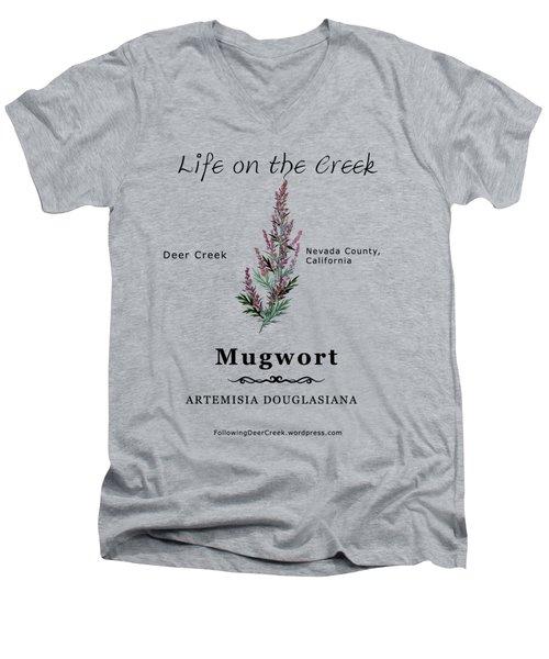 Mugwort Men's V-Neck T-Shirt