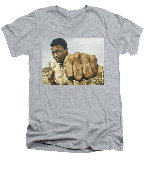 Muhammad Ali Men's V-Neck T-Shirt