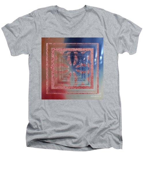 Mule Fawn Hoki Men's V-Neck T-Shirt