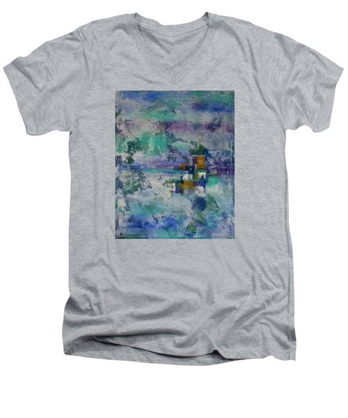 Multi-dimensional Portals Men's V-Neck T-Shirt