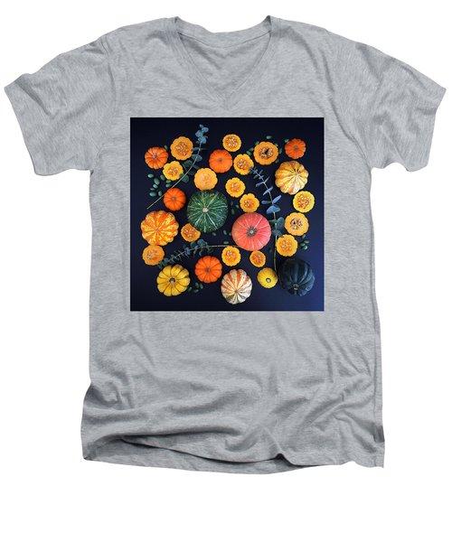 Multiple Squash Men's V-Neck T-Shirt