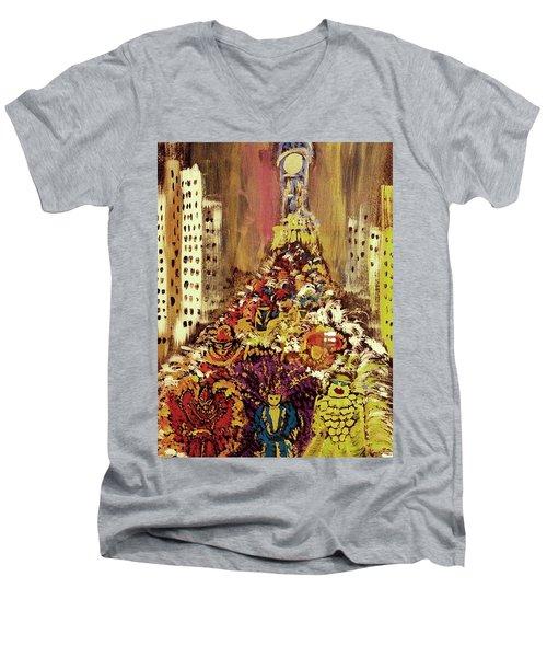 Mummers Men's V-Neck T-Shirt