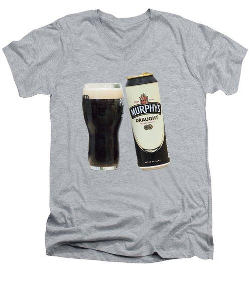 Murphys Draught Men's V-Neck T-Shirt