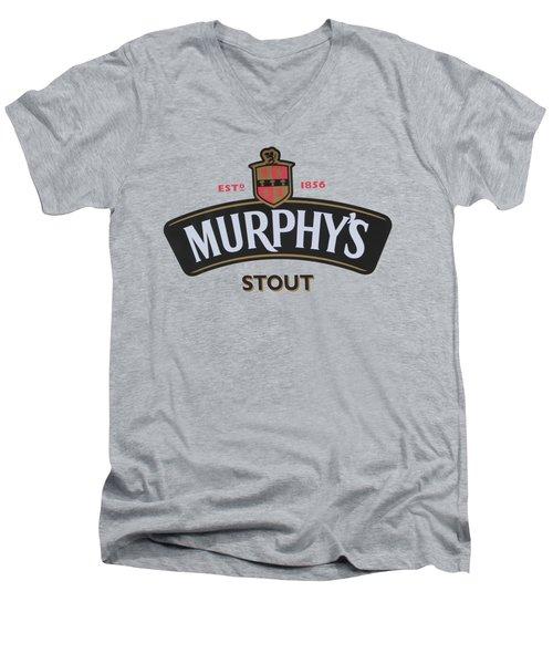 Murphys Irish Stout Men's V-Neck T-Shirt