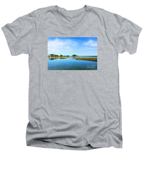 Murrells Inlet Men's V-Neck T-Shirt