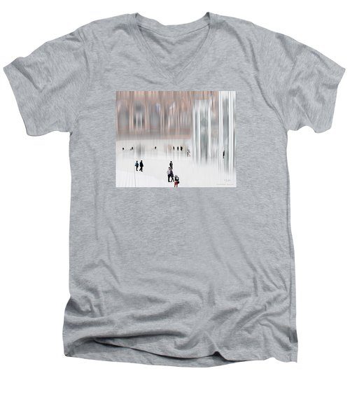 Museum Of Nothing Men's V-Neck T-Shirt