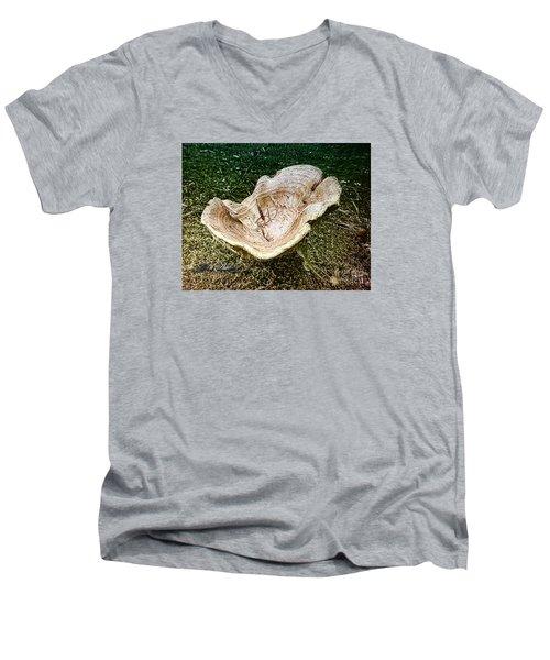 Mushroom  1 Men's V-Neck T-Shirt by Melissa Messick