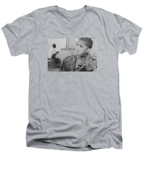 Music For The Soul Men's V-Neck T-Shirt