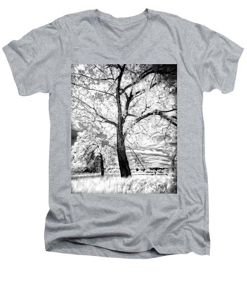 Music Moves The Soul Men's V-Neck T-Shirt by Dan Jurak