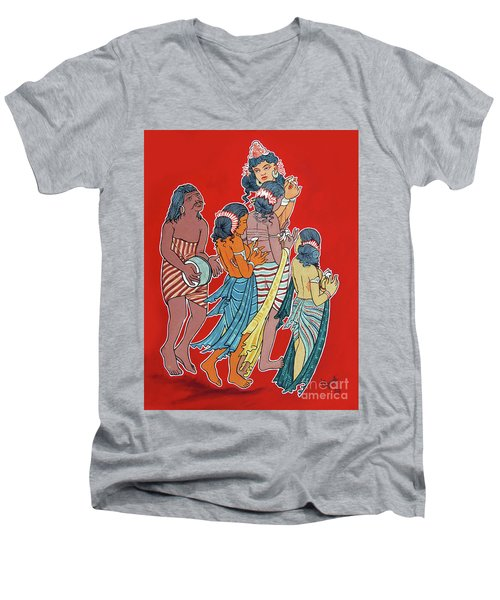 Musical Concert Men's V-Neck T-Shirt