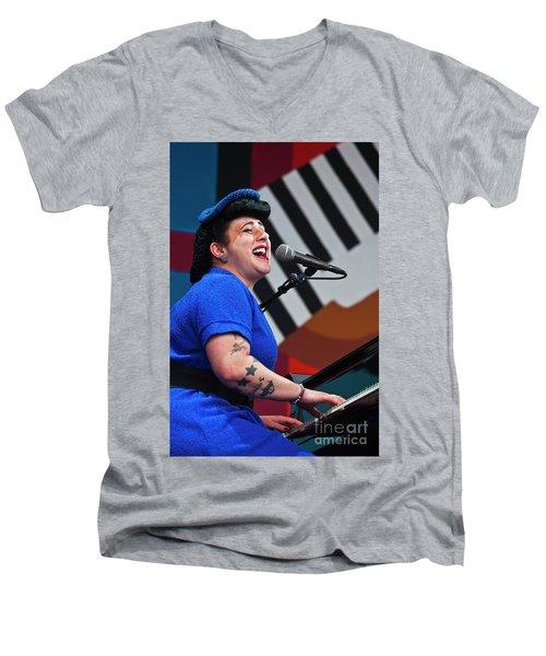 Music_d6399 Men's V-Neck T-Shirt