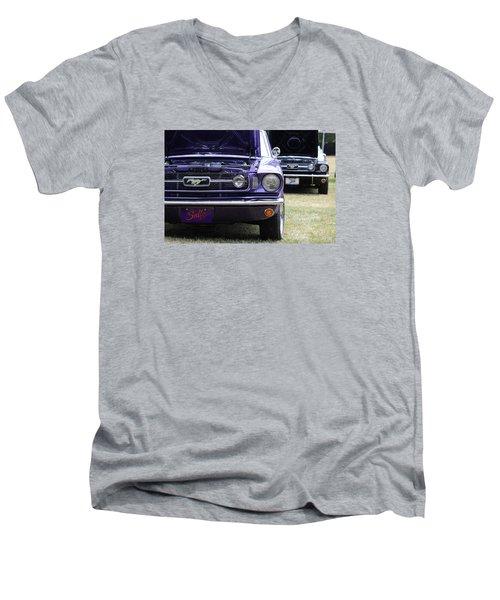 Mustang Love Men's V-Neck T-Shirt