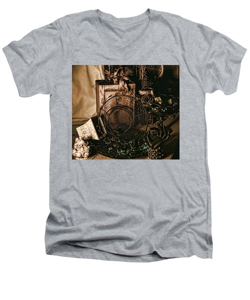 Muted Still Men's V-Neck T-Shirt