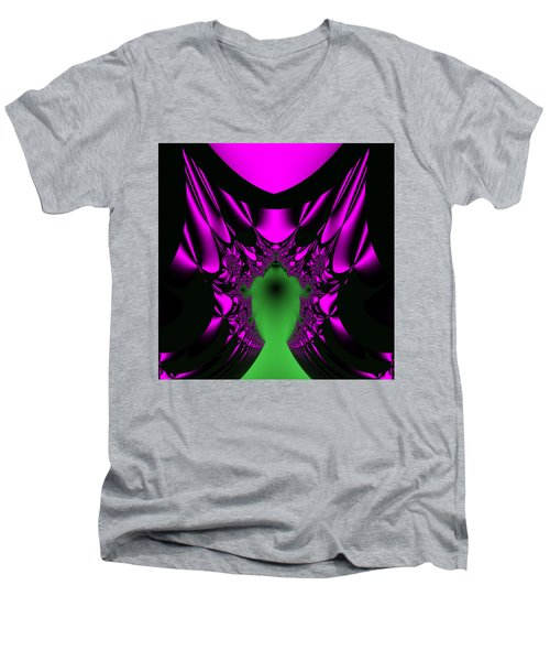 Mutenscran Men's V-Neck T-Shirt