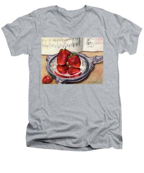 My Antique Mirror Men's V-Neck T-Shirt by Anne Gifford