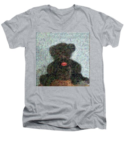 My Bear Men's V-Neck T-Shirt