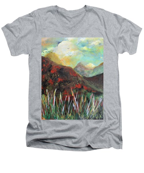 My Days In The Mountains Men's V-Neck T-Shirt