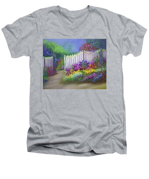My Dream Garden Men's V-Neck T-Shirt
