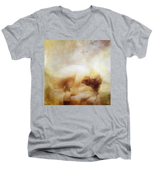 My Dreams Fly Away Men's V-Neck T-Shirt